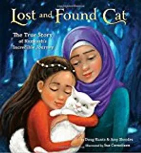Kids literacy - LOST AND FOUND CAT